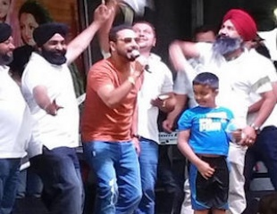 Geeta Zaildar Live at Edmonton Mela (Aug 2015)