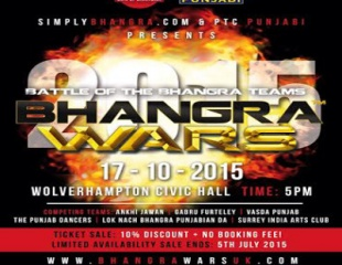 Bhangra Wars 2015: Early Bird Tickets On Sale Now!