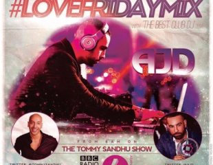 AJD showcases live mix on Tommy Sandhu show!