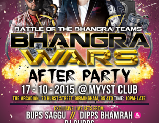 Bhangra Wars 2015 After Party Tickets On Sale Now!