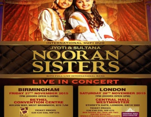 Jyoti & Sultana - Nooran Sisters - First UK Tour!